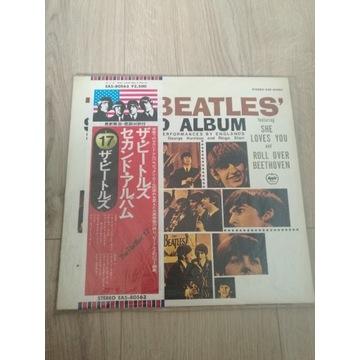 The Beatles Second Album RARE Japan EAS-80563
