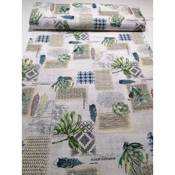 Tkanina bawełna drukowana