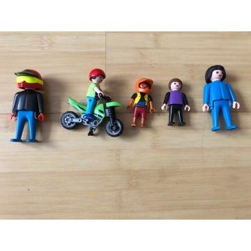 PLAYMOBIL ludziki Motor Cross motocykl dzieci