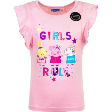 Koszulka Świnka Peppa (Peppa Pig) rozmiar 98