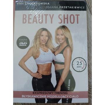 Beauty shot Chodakowska DVD nowa płyta