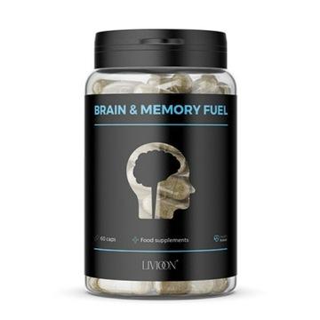 BRAIN & MEMORY FUEL - 60 tab. Pamięć, koncentracja