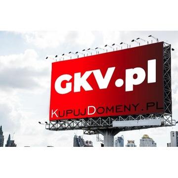 Domena trzy literowa GKV.pl - MEGA OKAZJA !!!!!!!!