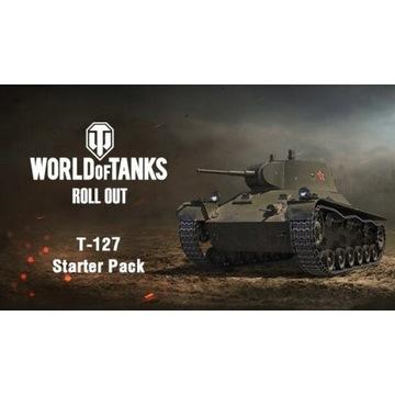 KOD WORLD OF TANKS T-127 + 7D PREMIUM