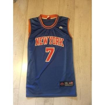Męska Koszulka Koszykarska New York Anthony 7 XXL