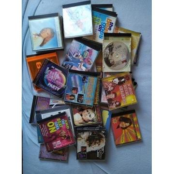 Mix płyt CD z muzyką, ok 40 sztuk, cena za całość