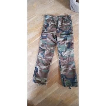 Spodnie bojówki moro militarne 152 cm