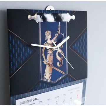 Kalendarz -Zegar premium - adwokat, radca prawny
