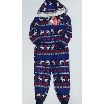 Kombinezon świąteczny/piżamka 98/104