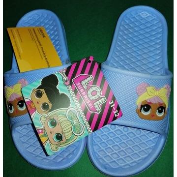 Klapki dziecięce buty letnie Lol r.31~32