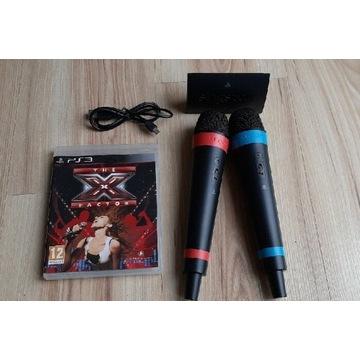 Mikrofony bezprzewodowe PS3 PS4 Singstar X Factor