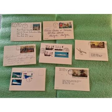 Karty pocztowe 7 szt