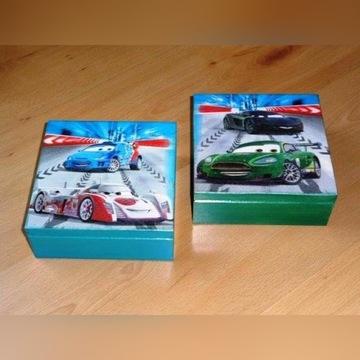 Pudełko szkatułka w auta 14,5x14,5 /wyprzedaż