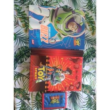 Zestaw Toy Story album na zdjęcia, teczka, portfel