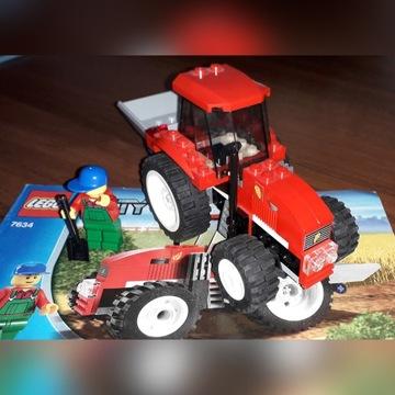 lego 7634 Traktor plus terenówka z 4433