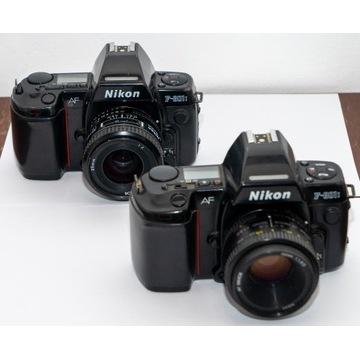 2x Nikon F801s (f-801s; N8008s)