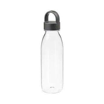 Butelka na wodę, ciemnoszary 0.5 l