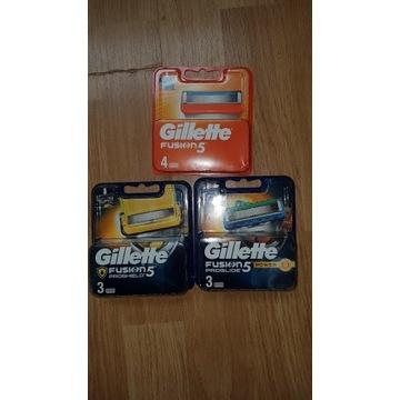 Ostrza Gillette Fusion 5