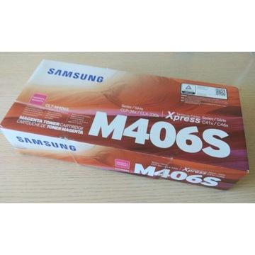 Toner Samsung CLT-M406S Magenta Nowy Oryginał