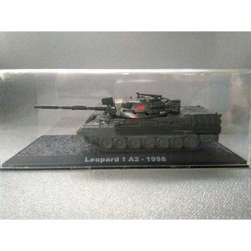 kolekcjonerski MODEL CZOŁGU Leopard 1 A2 - 1998