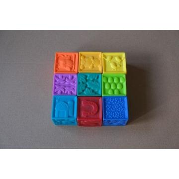 Smiki, Softblocks, pierwsze klocki, 9 elementów