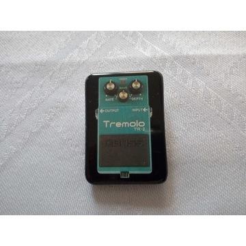 BOSS - guitar effect - Tremolo - przypinka/plakiet