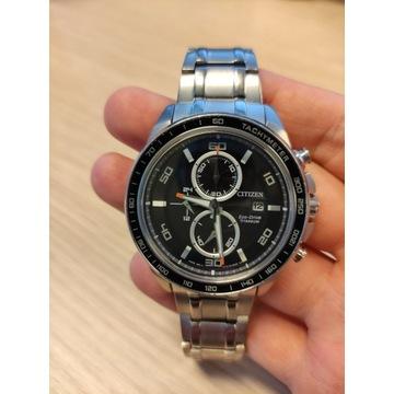 Citizen tytanowy zegarek meski