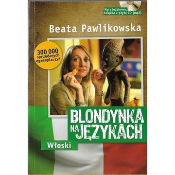 Blondynka na językach Włoski  / jak NOWA