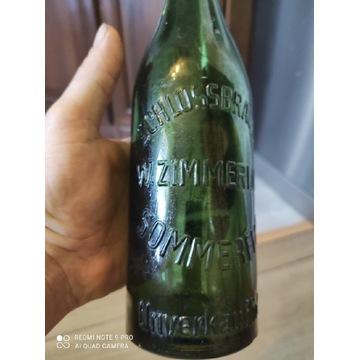 Stara butelka Somerfeld Lubsko