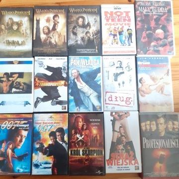 KASETY VHS JAK NA ZDJĘCIU