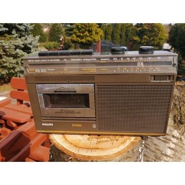 Radiomagnetofon PHILIPS D7010