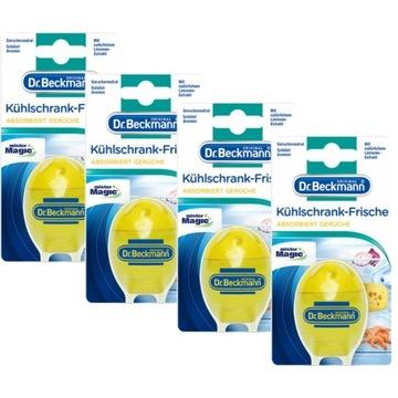 Pochłaniacz zapachu w lodówce Dr Beckmann Lemon 4x