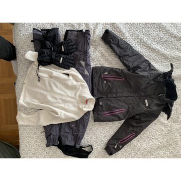 REIMA TEC 140 spodnie kurtka polar rękawice