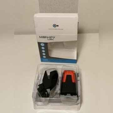 MonkeyLink 100 Lux zestaw oświetlenia LED ebike