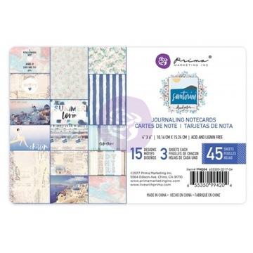 Karty do journalingu/ Prima - 4x6 Santorini