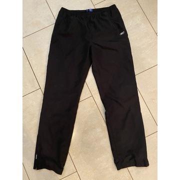 Reebok spodnie dresowe,czarne joggery męskie M/ L