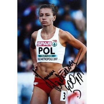 JOANNA LINKIEWICZ autograf