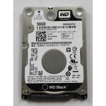 Dysk WD BLACK WD5000LPLX 500GB 7mm DELL 0CXKCK