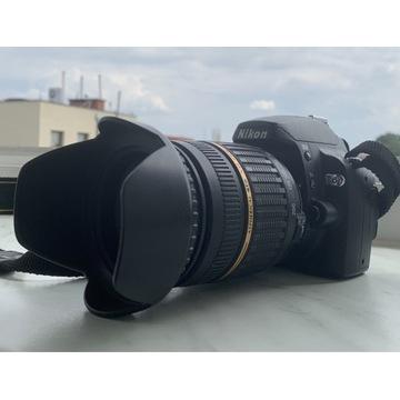 Aparat Nikon D60 + Obiektyw Tamron 18-200 AF