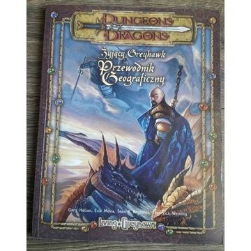 Dungeons & Dragons - Żyjący Greyhawk + mapa