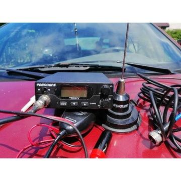 Cb radio President teddy ASC antena magnetyczna