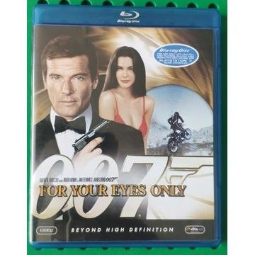 TYLKO DLA TWOICH OCZU For Your Eyes On 007 BLU-RAY