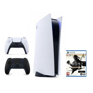 PlayStation 5 + pad + Ghost of Tsushima