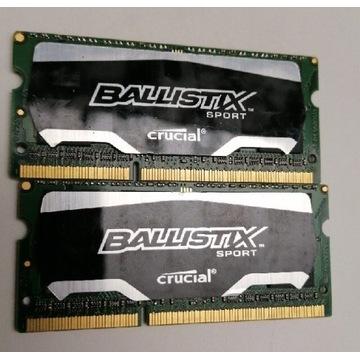Crucial 2x8 gb 16gb 1866mhz laptop