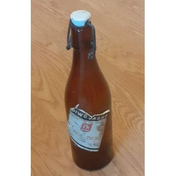 Butelka po piwie Okocim PRL , porcelanka BCM