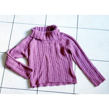 Sweter z alpaką
