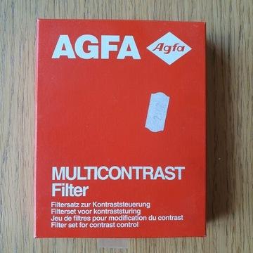 Filtry powiększalnikowe AGFA Multicontrast -zestaw