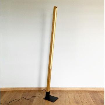 Lampa drewniana podłogowa BELKA