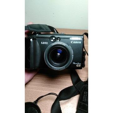 CANON PowerShot G5 - Made in Japan - DODATKI