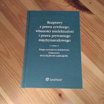 Księga pamiątkowa dedykowana Prof. B. Gawlikowi